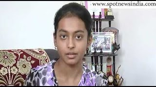 Hoshiarpur India  city photos gallery : Hoshiarpur topper Nancy talking to Spot News India