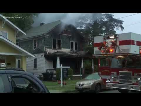 Official: 2 dead after house fire in Portsmouth