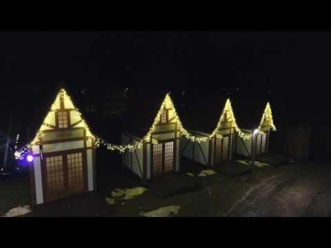 Ziemassvētku noskaņa Valmieras vecpilsētā