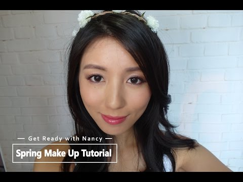 Get Ready with Nancy-Spring Make Up Tutorial