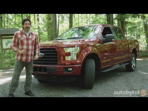 2015 Ford F-150 XLT SuperCrew 4X4 Video Review