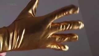 Latex Spandex Tight Zentai Gold Woman