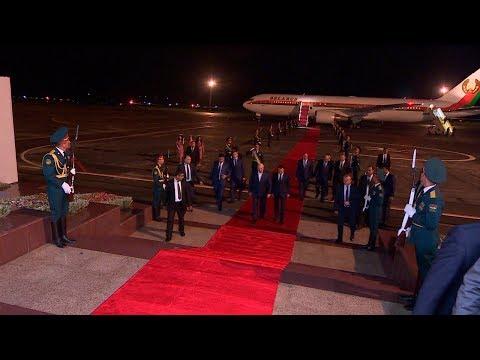 Лукашенко прибыл с официальным визитом в Таджикистан - DomaVideo.Ru