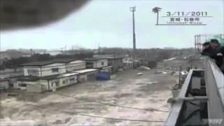 Miyagi Japan  city images : Tsunami in Ishinomaki, Miyagi Prefecture, Japan