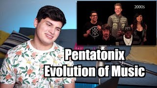 Video Vocal Coach Reaction to Pentatonix - Evolution of Music MP3, 3GP, MP4, WEBM, AVI, FLV Desember 2018