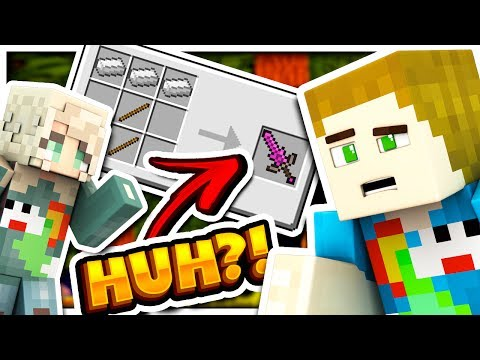 EVERY CRAFTING RECIPE CHANGED... - WHAT IS MINECRAFT?! W/ Thea (видео)