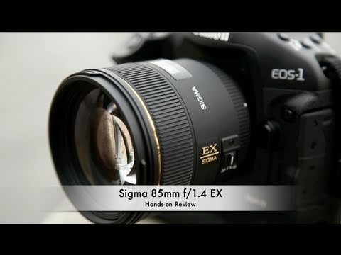 f1.4 - Sigma has released their latest fast-apertured prime in the form of an 85mm f/1.4, a popular focal length for portrait photographers. With Nikon and Canon's ...