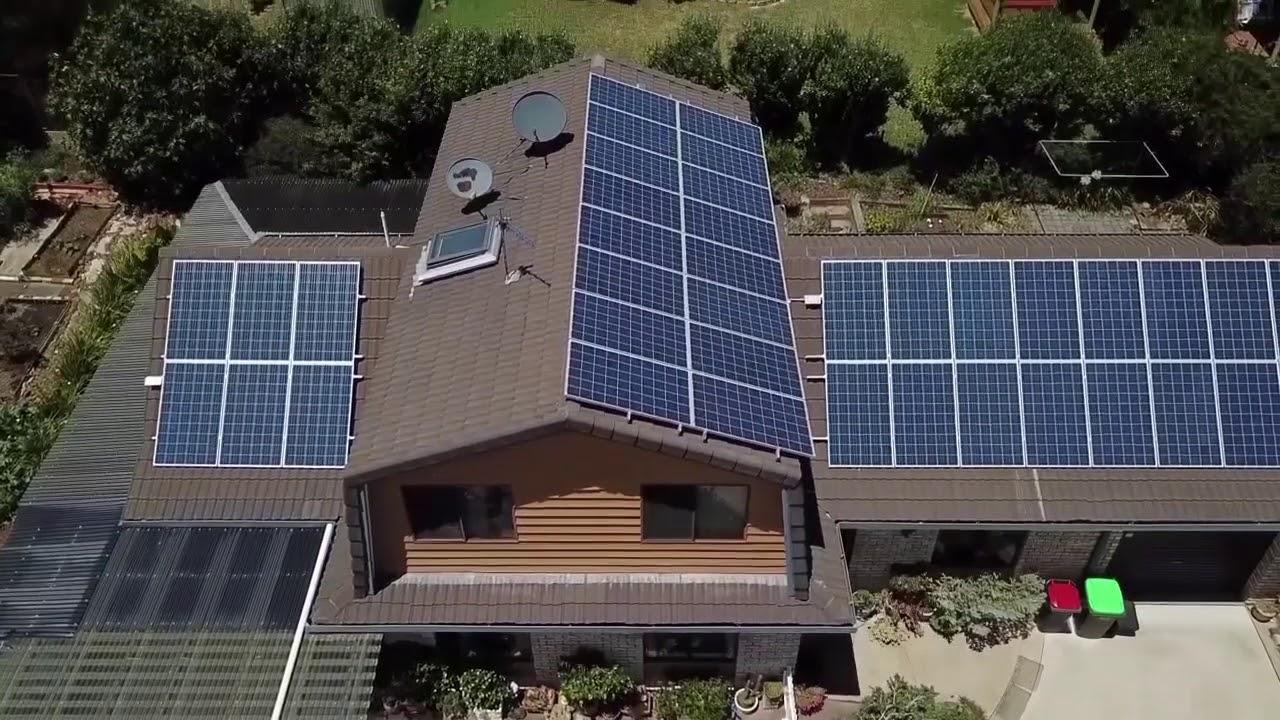 10kW Armidale Residential Solar Energy Installation
