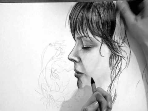 Frau im Profil zeichnen – Video-Tutorial