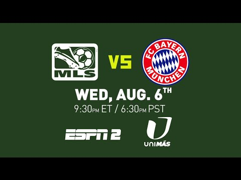 Munich - The AT&T MLS All-Star Game - MLS All-Stars vs. Bayern Munich Wednesday August 6th, 9:30 PM ET on ESPN 2. For More of the 2014 AT&T MLS All-Star Game: www.MLSsoccer.com/All-Star Subscribe...