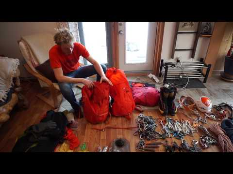 What's in my Pack - Alpine Climbing