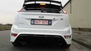 2010 Ford Focus RS - sound, drive-by and drive-off