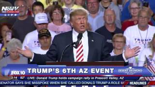 Prescott Valley (AZ) United States  city photo : FNN: Donald Trump Rally in Prescott Valley, Arizona 10/4/16