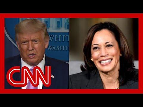 Trump says he was surprised Biden picked Kamala Harris as running mate
