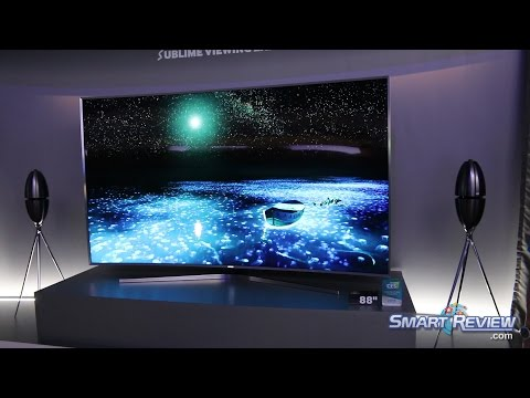 CES 2015 | Samsung SUHD 4K Smart TVs Lineup | New Nano Crystals | Ultra HD UHD | JS9500