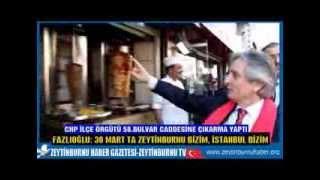 CHP Bulvar Caddesinde Zaferçıkarması yaptı