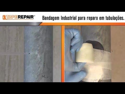 Vídeo: TAPEREPAIR® - BANDAGEM INDUSTRIAL