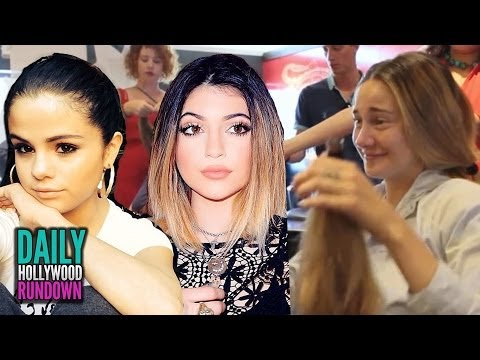 Shailene Woodley Cries Over Chopped Hair, Selena Warned Against Jenners (DHR)