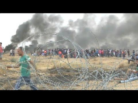 Mehr als 1.000 Verletzte bei Protesten am Gazastreifen