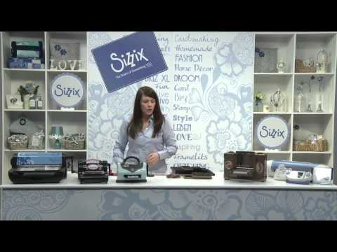Sizzix: The Machine Basics