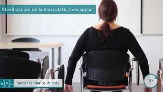 cuidar de tu espalda en 2 minutos.Infermera virtual