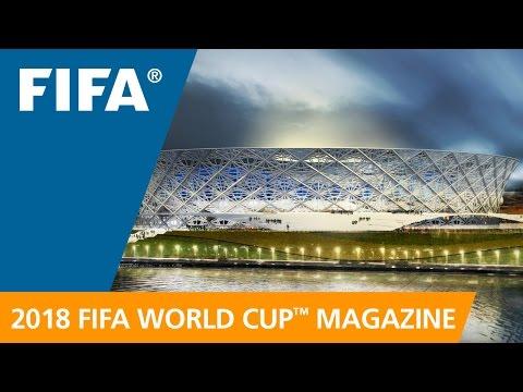 Ролик ФИФА о строительстве стадиона к ЧМ-2018 в Волгограде