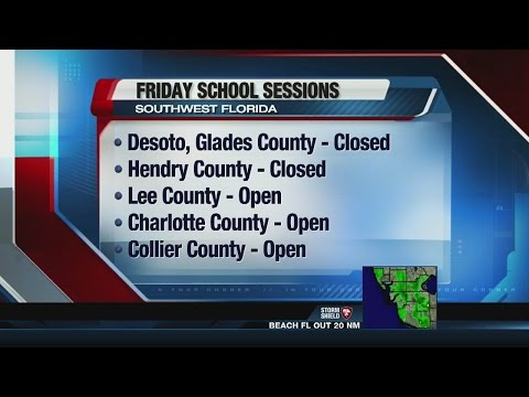 Southwest Florida school closings