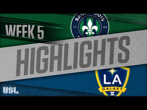 Сент-Луис - LA Galaxy 2 1:0. Видеообзор матча 15.04.2018. Видео голов и опасных моментов игры
