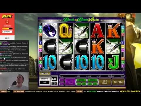 INSANE WIN on Break da Bank Again Slot - £2.70 Bet