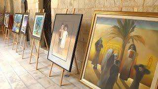 """""""ربيع القدس"""" معرض فني تشكيلي يجسد معاناة المدينة المقدسة"""