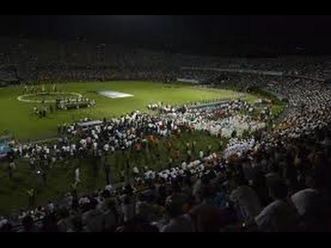 """¡CONMOVEDOR! El fútbol unido en un grito: """"Vamos, vamos Chape"""" - Los del Sur - Atlético Nacional"""
