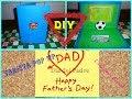 Tarjeta Para el Dia del Padre Pop Up /HOW TO MAKE POP-UP CARD