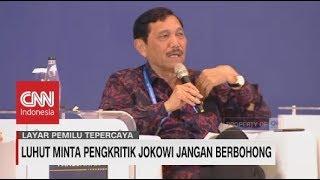 Video Luhut Minta Pengkritik Jokowi Jangan Berbohong MP3, 3GP, MP4, WEBM, AVI, FLV Maret 2019