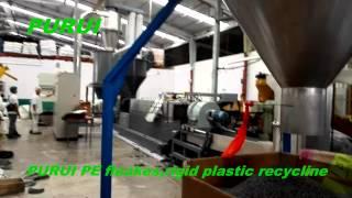 plastic pelletizing process pelletizing machine with forced feeding youtube video