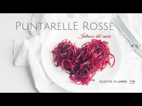 puntarelle rosse: ricetta per san valentino