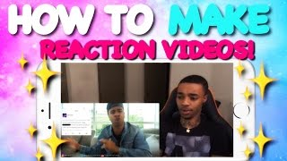 * FREE * How To Make Reaction Videos On Your Phone !!! | No Computer Needed !!
