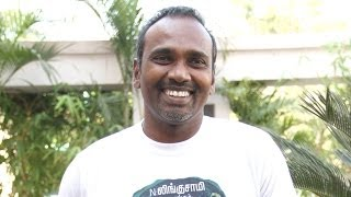 Diretor Vijay Milton at Goli Soda success