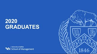 Names of graduates in the UB School of Management Class of 2020