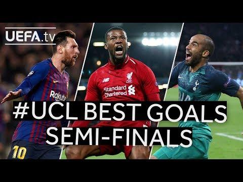 MESSI, WIJNALDUM, MOURA: #UCL BEST GOALS, Semi-finals