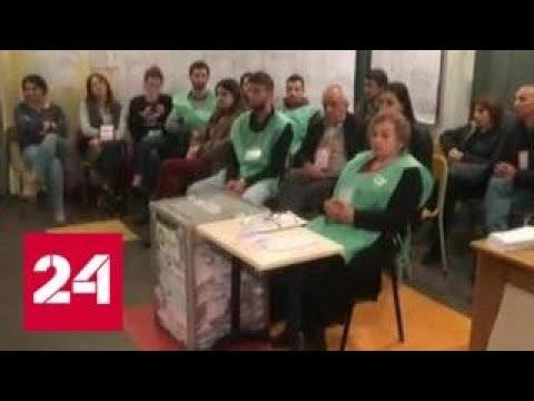 Выборы в Грузии прошли со спецназом - Россия 24