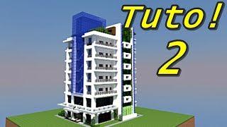 Minecraft Tuto - Tour moderne ! 2/4