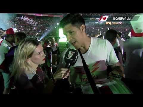 Enzo Pérez en la fiesta del Más Gr4nde