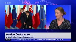 Pozice Česka v EU