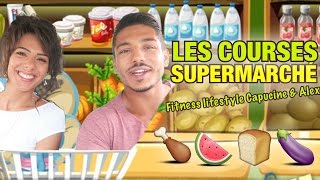 Video Les COURSES d'un FITNESS COUPLE au SUPERMARCHE by Bodytime MP3, 3GP, MP4, WEBM, AVI, FLV September 2017