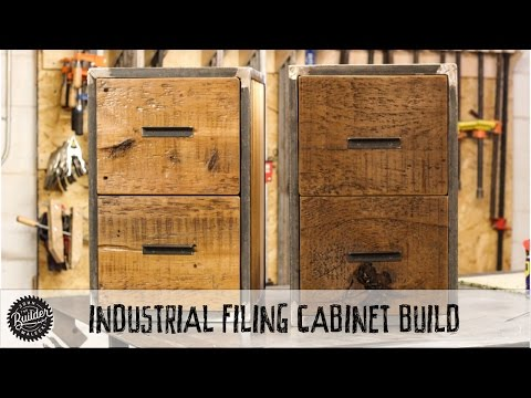 How To Build an Industrial Reclaimed Filing Cabinet