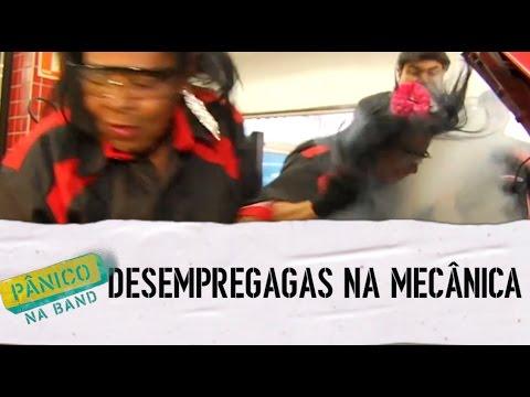 Pânico na Band - DESEMPREGAGAS: MECÂNICA - E06