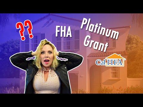 PT 1 Intro to CA Buyer Programs | Compare and contrast FHA - CalHFA - Platinum Grant