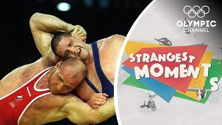 The Day an Olympic Wrestling Legend was Defeated | Strangest Moments