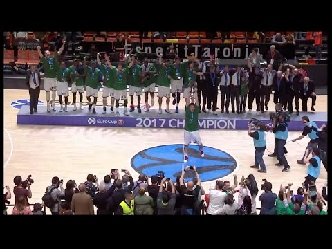 7DAYS EuroCup Finals: Unicaja celebrations!