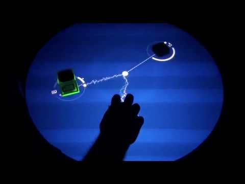 Reactable mix of Michael Jackson – Robot RJ